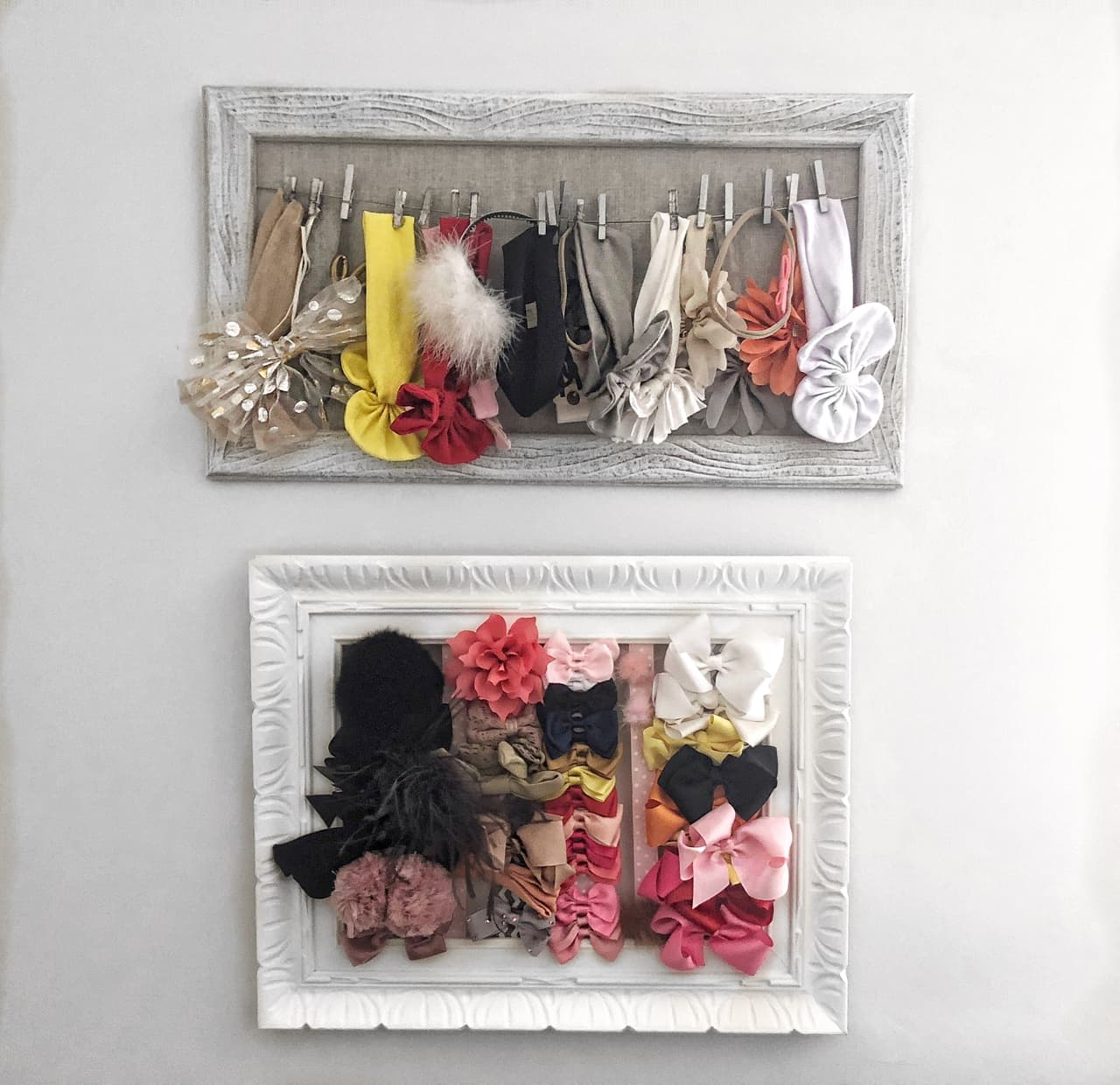 hair accessories organizing