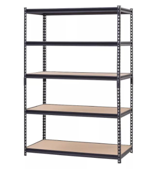 organizing shelves