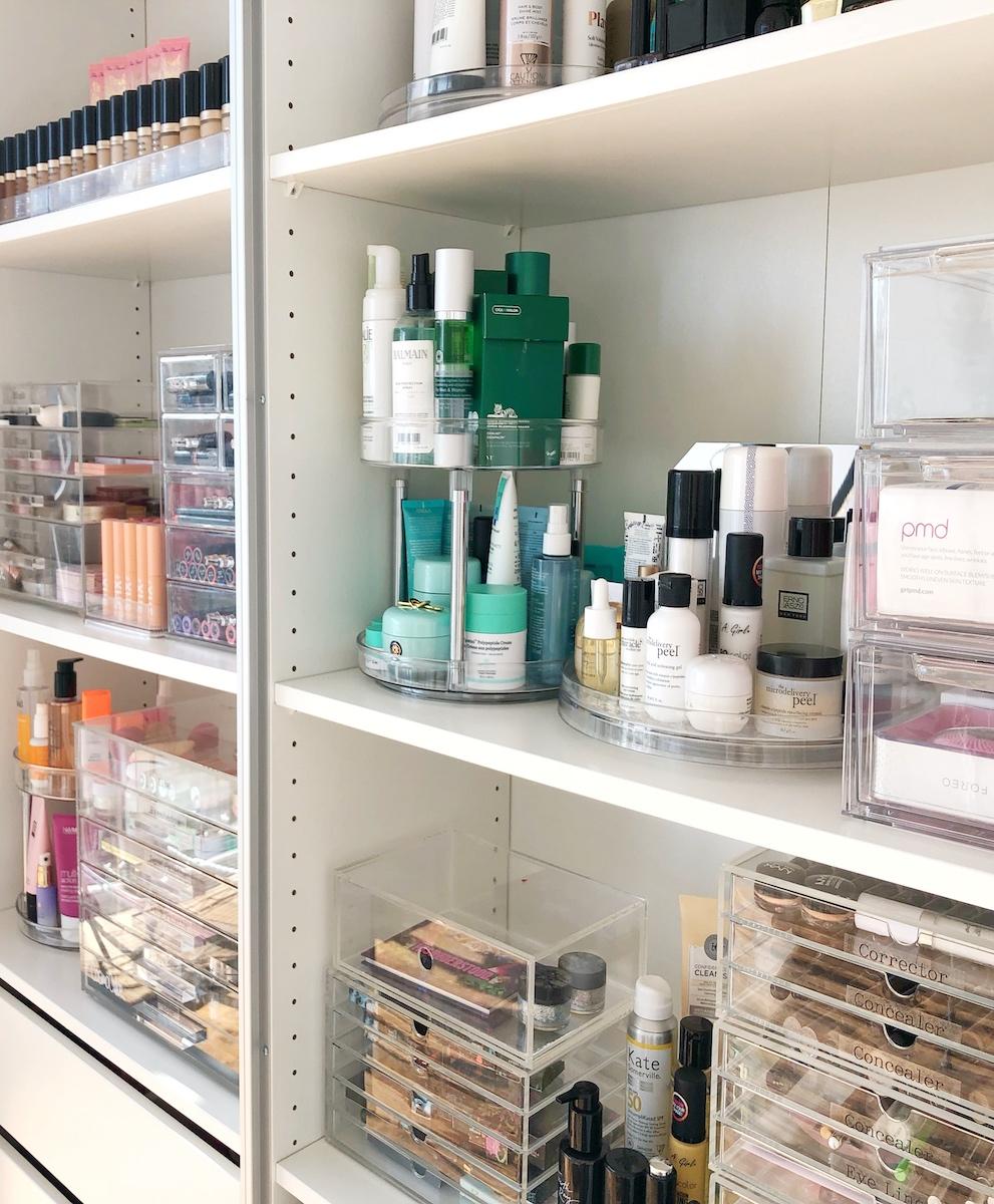 Vanity Organizing